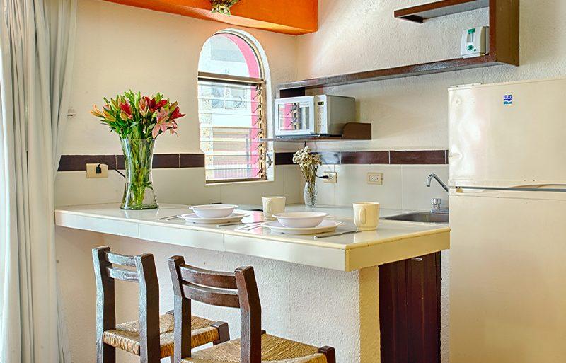 Habitacion-Junior-Suite-Hotel-Economico-Suite-Plaza-del-Rio-Centro-Puerto-Vallarta